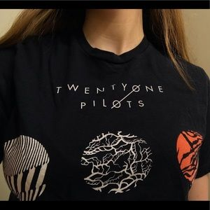 Twenty One Pilots Blurryface Band Graphic Tee